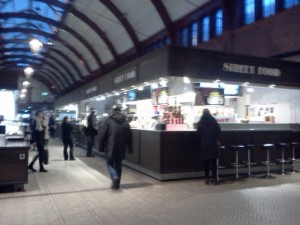 Street food Malmo Central Station