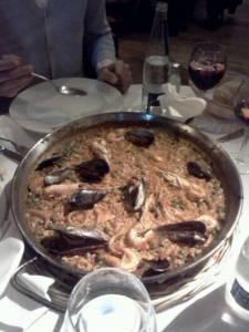 paella frisco Restaurant la Fonda