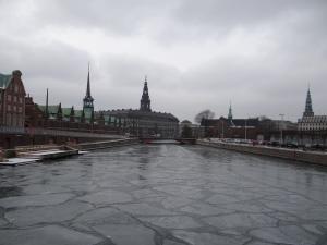 Cladirea Bursei si Palatul Christianborg